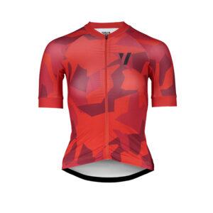 Void Women's Ride Jersey  Red Shield