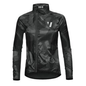 Void Women's Wind Jacket Black Shield