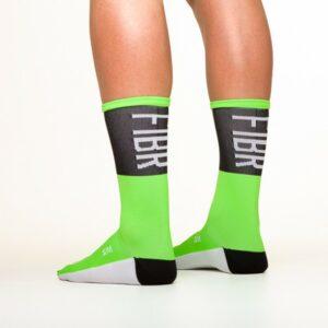 FIBR Tall Sock Green