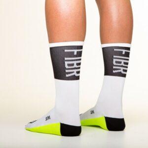 FIBR Tall Sock White