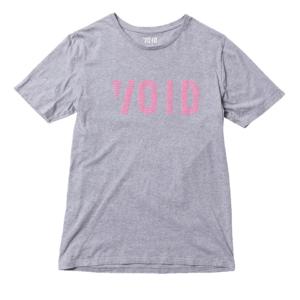 Void T-Shirt Grey Melange