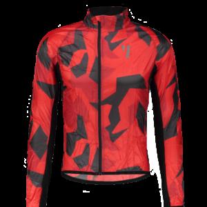 Void Wind Jacket Red Shield
